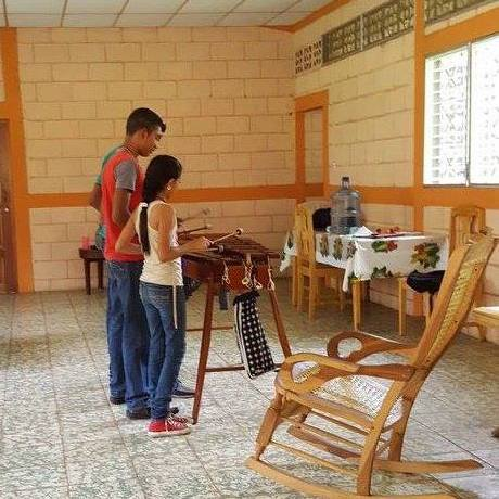 marimba lessons at the cultural center