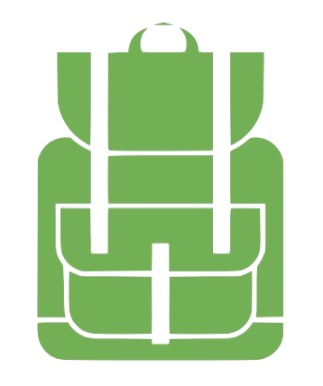 clipart of a school backpack