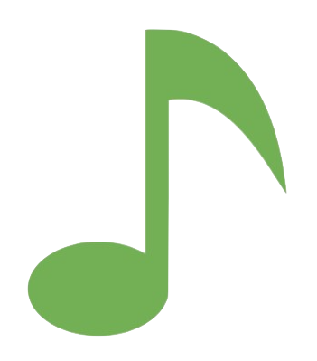clipart of a musical note