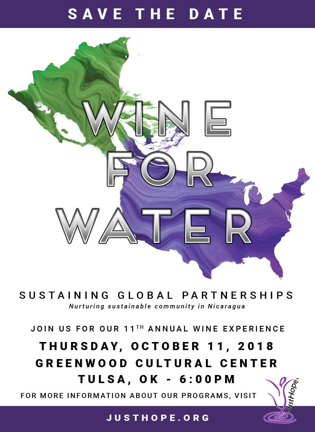 Save the Date: October 11, 2018, 6pm