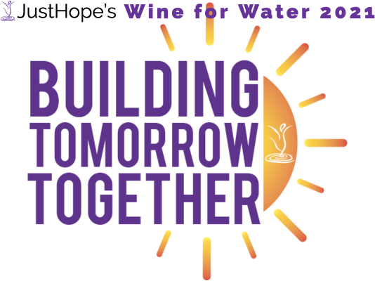 a sun rises behind the words, Building Tomorrow Together